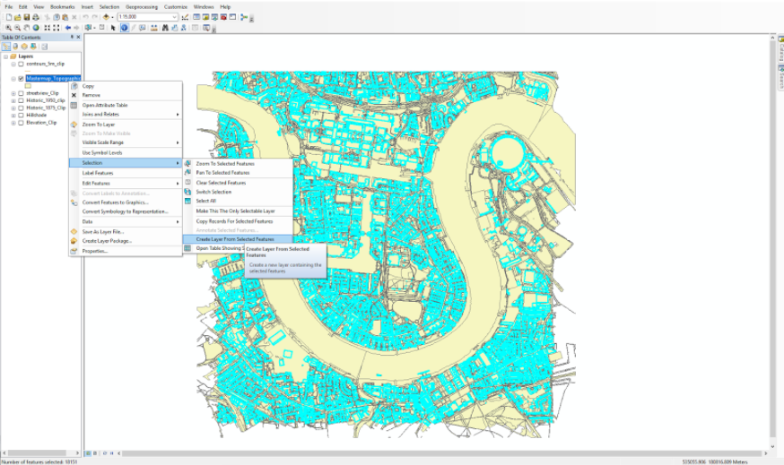ArcMap Select Attributes